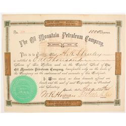 Oil Mountain Petroleum Company  (87914)