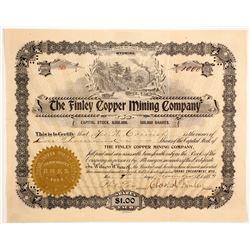Finley Copper Mining Company Stock  (88028)