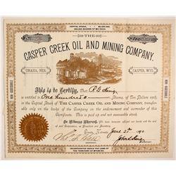 Casper Creek Oil and Mining Company  (87907)