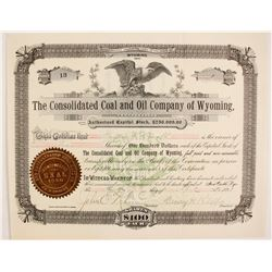 Consolidated Coal and Oil Company of Wyoming  (87909)
