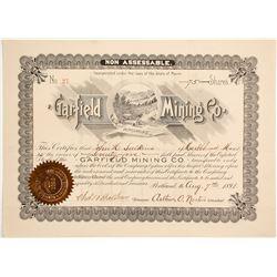 Garfield Mining Company of Wyoming Stock  (88029)
