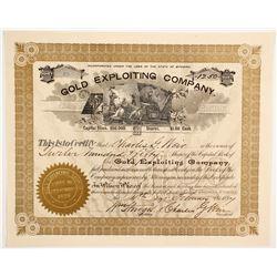 Gold Exploiting Company Stock  (88030)