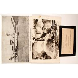 Gold Mining Real Photo Postcards  (88258)