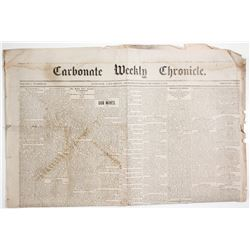 Carbonate Weekly Chronicle 1879  (63910)