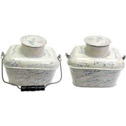 Autographed Mining Lunch Pail  (86602)
