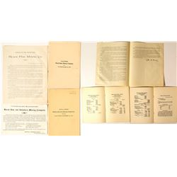 3 Montana Mining Documents  (47877)