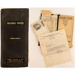 Collection of Documents from Arthur Loiselle, Montana  (50364)