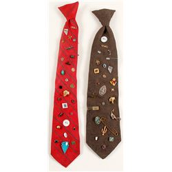 Two Mining Engineer Neckties  (87335)