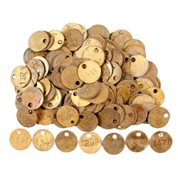 Utah Miner's Brass Tag Collection  (88355)