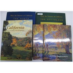 California Impressionist Art Books (5)  (72034)