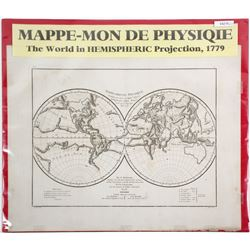 World in Hemispheric Projection  (64218)