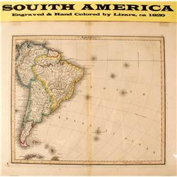 Map of South America  (59641)