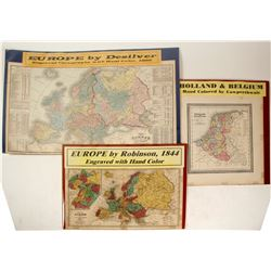 Holland, Belguim and Europa Maps (3)  (63113)