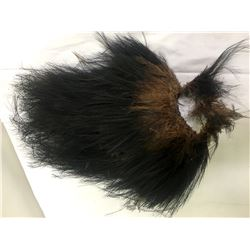 African Feather Ceremonial Head Dress  (87415)