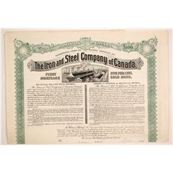 First Mortgage Bond (Iron City & Steel Co. of Canada)  (86824)