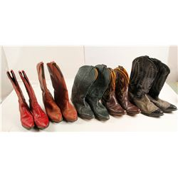 Cowgirl Boots 5 Pairs  (87353)