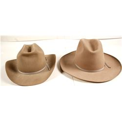 Stetson and Marathon Tan Hats (2)  (69057)