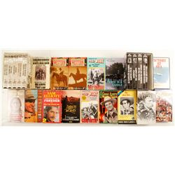 Western Themed VHS & DVD's (Approx. 35)  (86860)