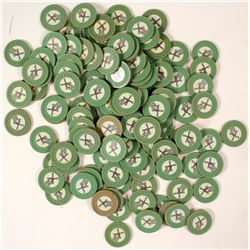 Rare Roman Pool, Miami Beach, FL Casino Chips  (59737)
