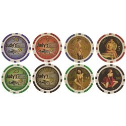 Judy's Coyote Spring Ranch Poker Chips  (61651)
