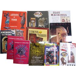 Slot Machine and Antiques Books (11)  (84813)