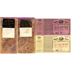 Dakota Territory Wholesale Liquor Tax Stamp Books (2 count)   (61378)