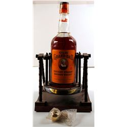 Old Grand Dad Bar Bottle in Cradle  (76812)