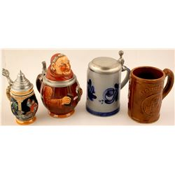 Four Beer Steins  (76366)