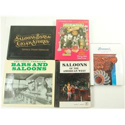 Saloon and Bar Books (5)  (86239)