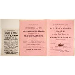 Advertisements for Getleson & Landis Leather  (63273)