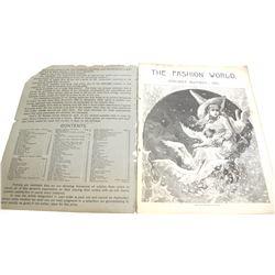 19th Century Fashion and Jewelry Catalog  (54175)