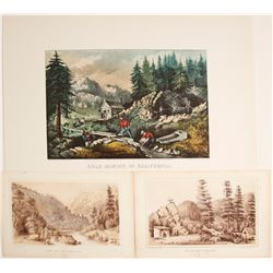 Lithographs Published by Currier & Ives (3)  (79169)