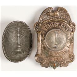 Fireman Related Badges (2)   (79100)
