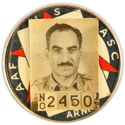 WWII Shipyard ID Badge  (80550)