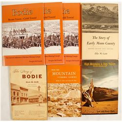 Bodie and Mono, CA Books (7 count)  (63145)
