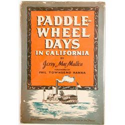 Paddle-Wheel Days in California (Hardback book)  (63416)