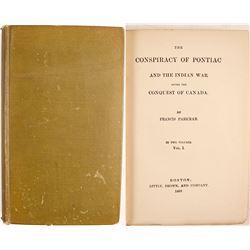 Conspiracy of Pontiac Vol.1 by Parkman  (63303)