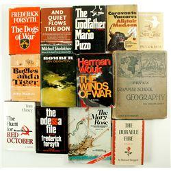 Dozen Mostly Novel Hardcovers  (87106)