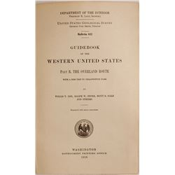 Guidebook of the Western United States  (63408)