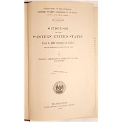 Guidebook of the Western United States  (63410)