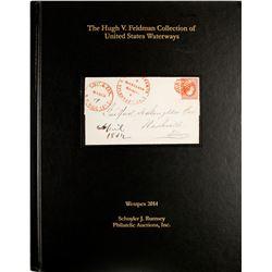 Hugh Feldman Waterway Cover Auction Catalog  (63356)