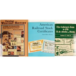 Stock and Ephemera Collecting Guides (3)  (63358)