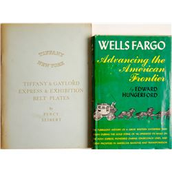 Wells Fargo and Tiffany Books (2)  (63353)