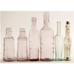 Food Bottles / Olive Oils & Salad Dressings / 6 Pieces  (78836)