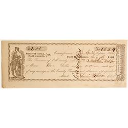 Fort Des Moines Check  (69050)