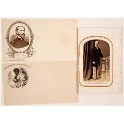 Civil War Photos and Envelopes  (65023)