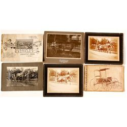 Horse-drawn Wagon Ephemera  (55657)