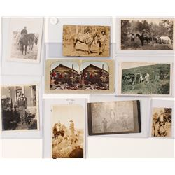 Men with Horses and Guns - Photos, Postcards, and Stereoview  (57217)