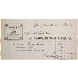Tomlinson & Co. Forwarding & Commission Merchants  (63436)