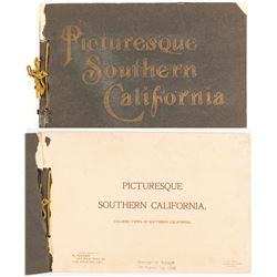 Picturesque Southern California Booklet  (53612)